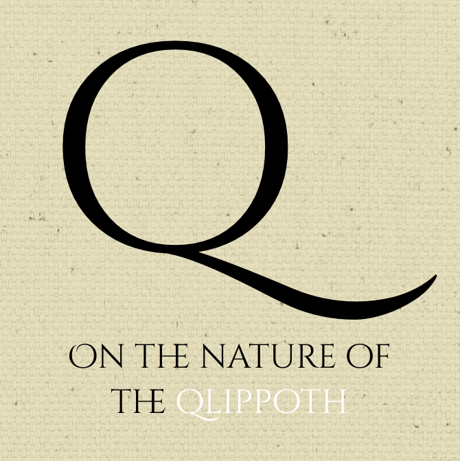 On the Nature of the Qlippoth