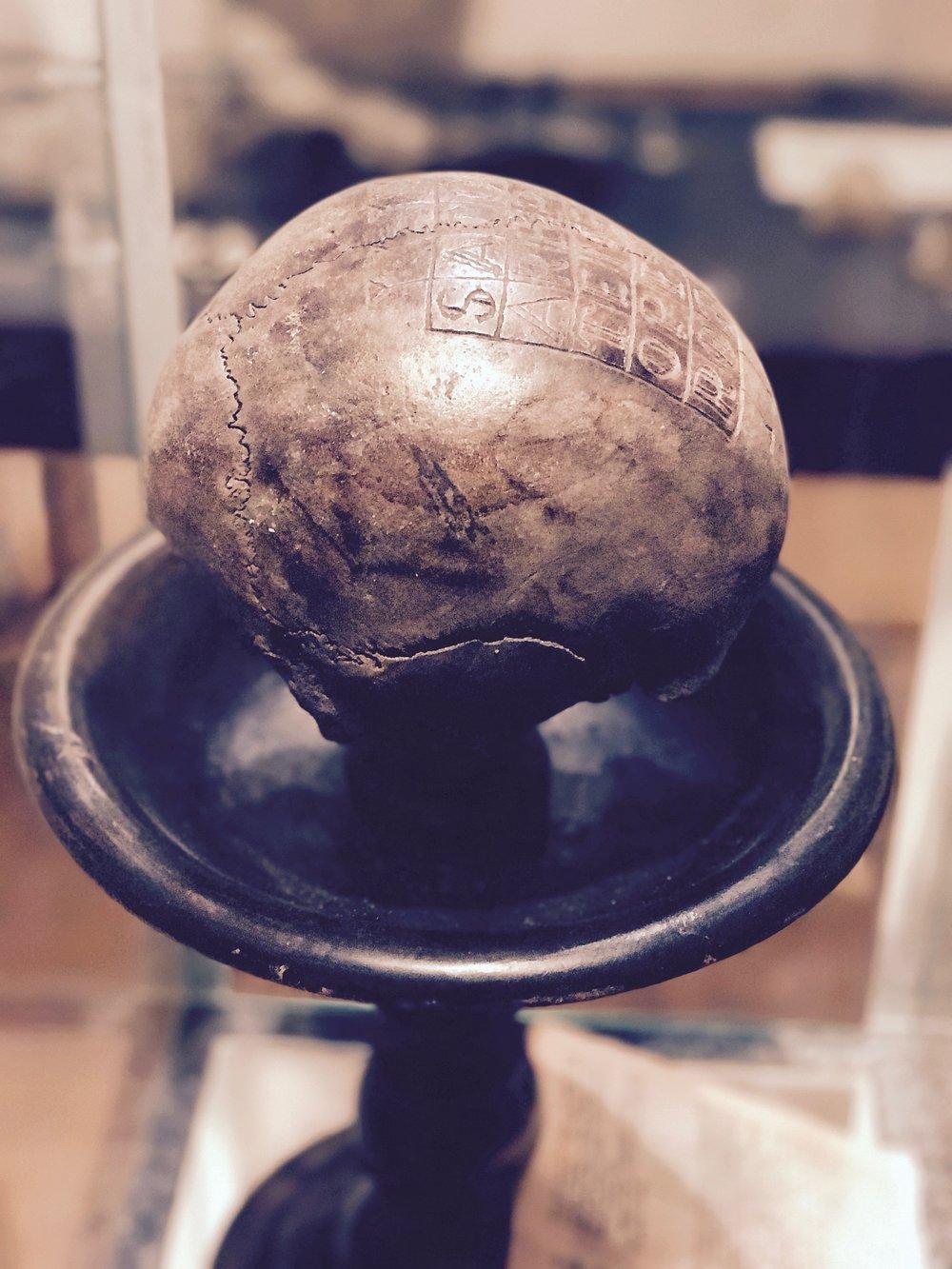 Schwurschädel (oath skull)