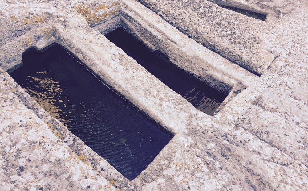 Open tombs