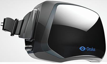 Oculus Rift Virtual Reality Wearable Display