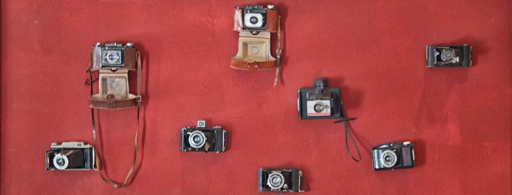 Old analog cameras
