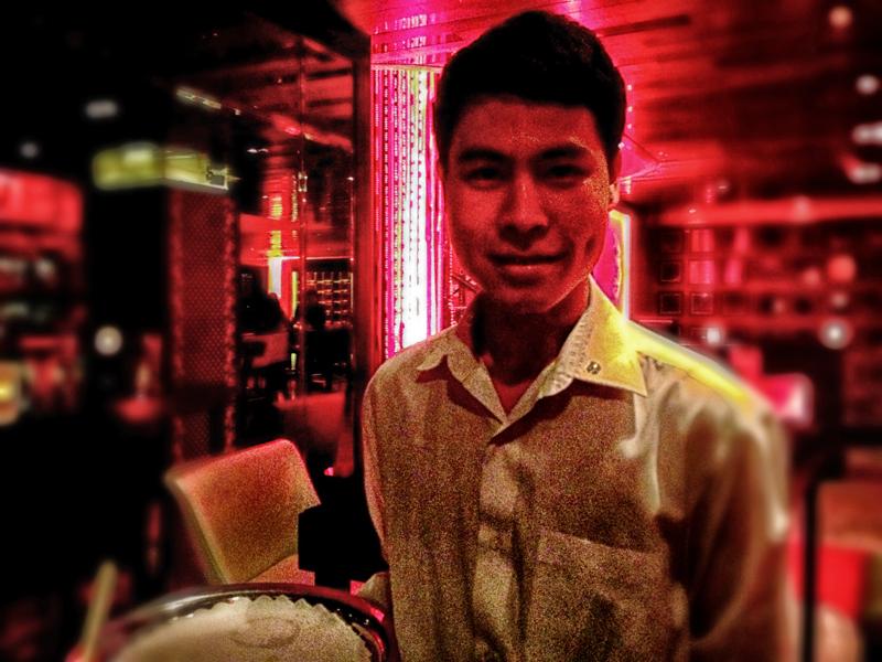 Bar mixer Pham Tien Tiep
