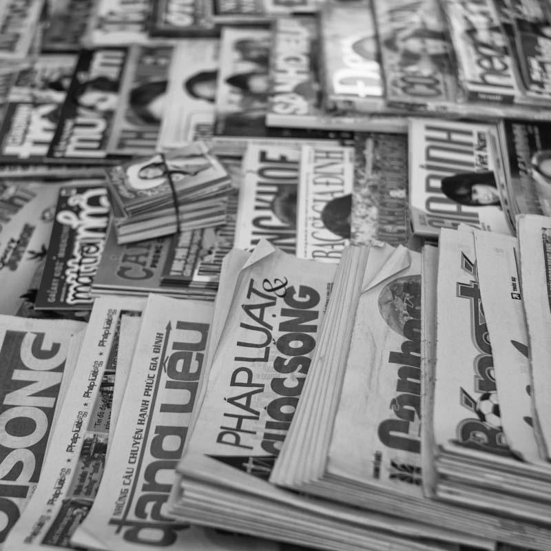 Newspaper, magazines in Vietnam