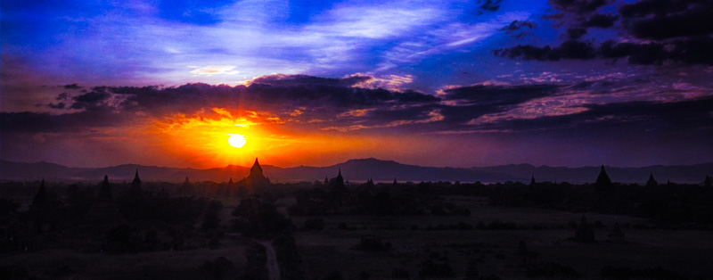 plane of Bagan