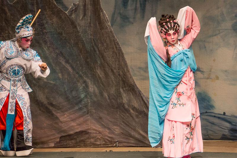 Cantonese Opera scene