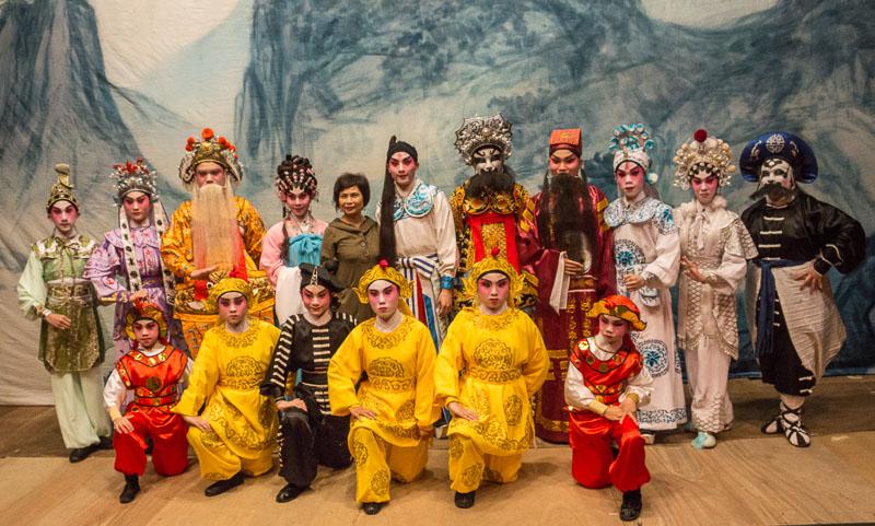 Cantonese Opera troupe