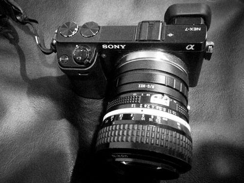 Sony NEX 7 with Nikon 50mm f1.2