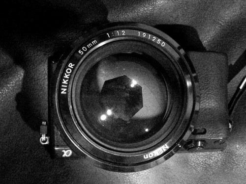 50 mm f 1.2 Nikkor lens
