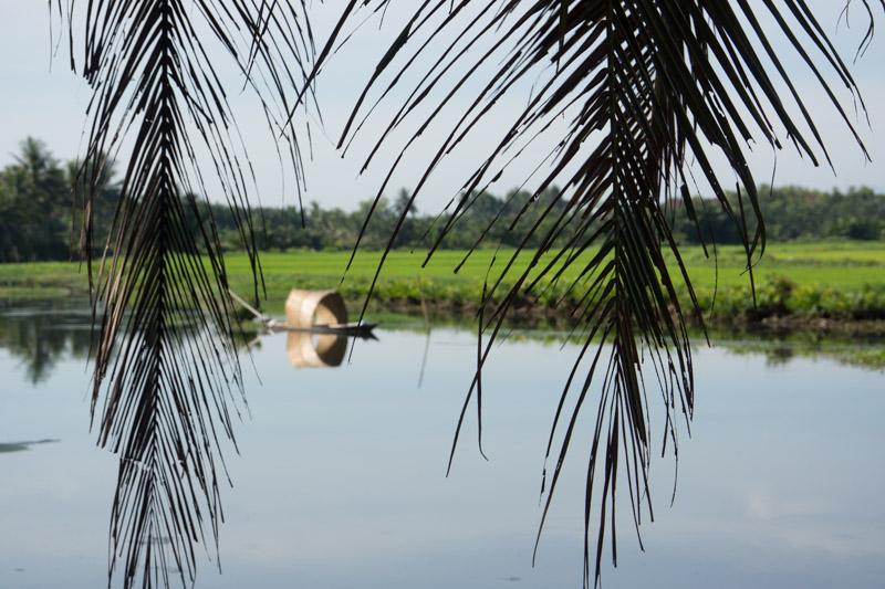 River near Hue, Vietnam