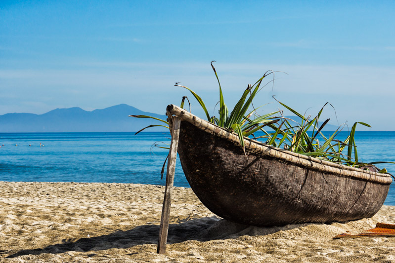 Beach near Hue, Vietnam