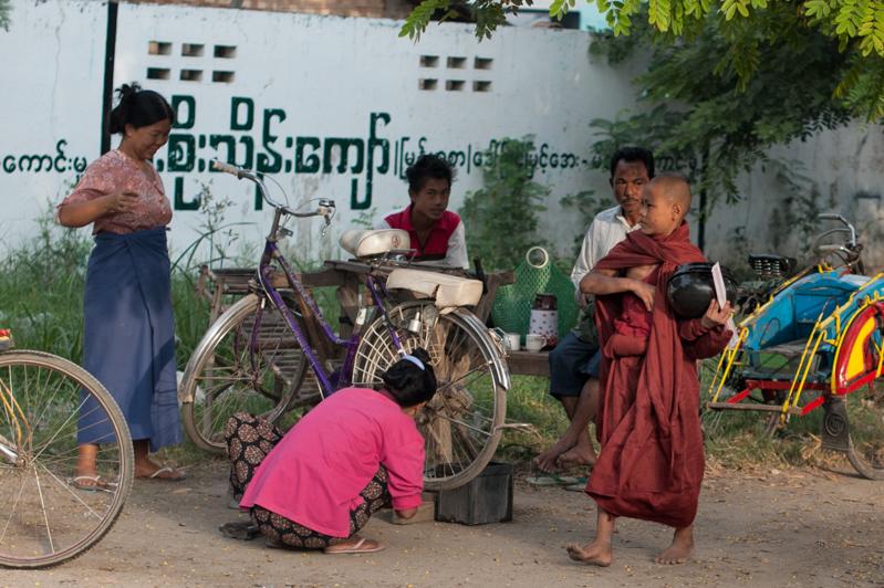 Along to the center towards Mandalay