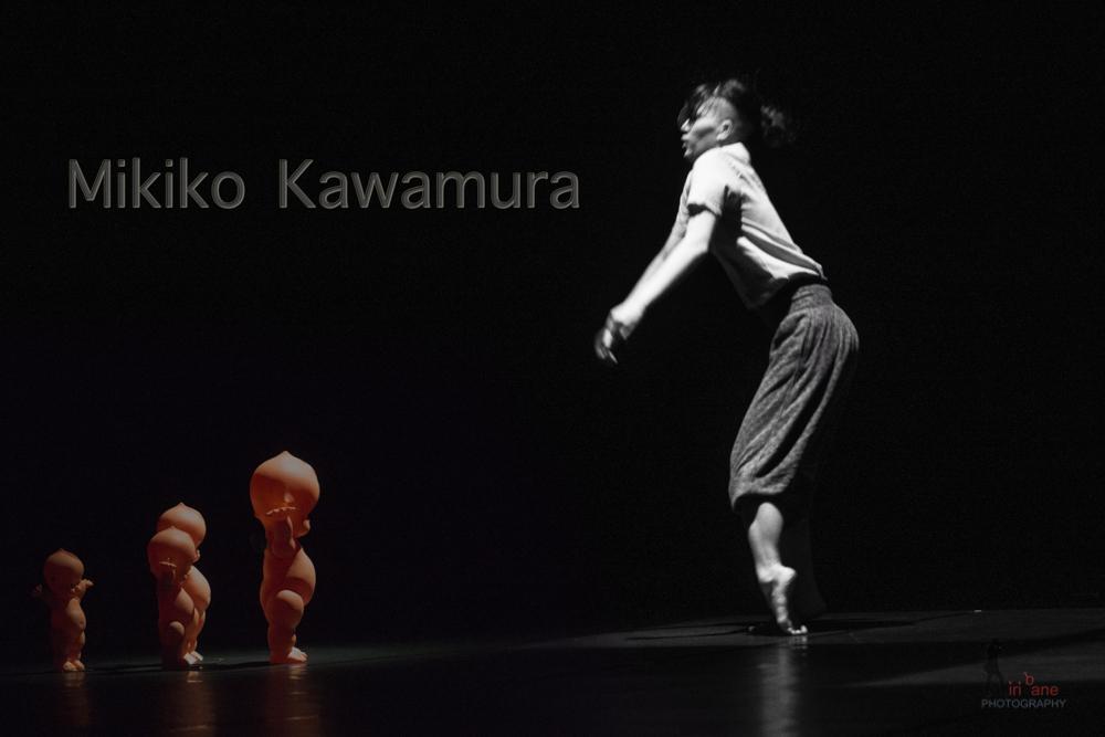 Mikikio Kawamura dancing Alphard in Hanoi