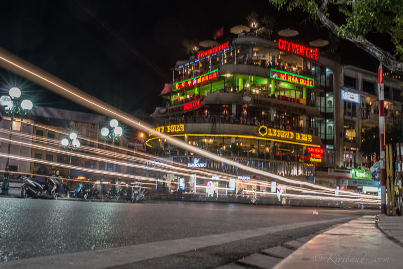 a low point of view and long shutter speed is essential