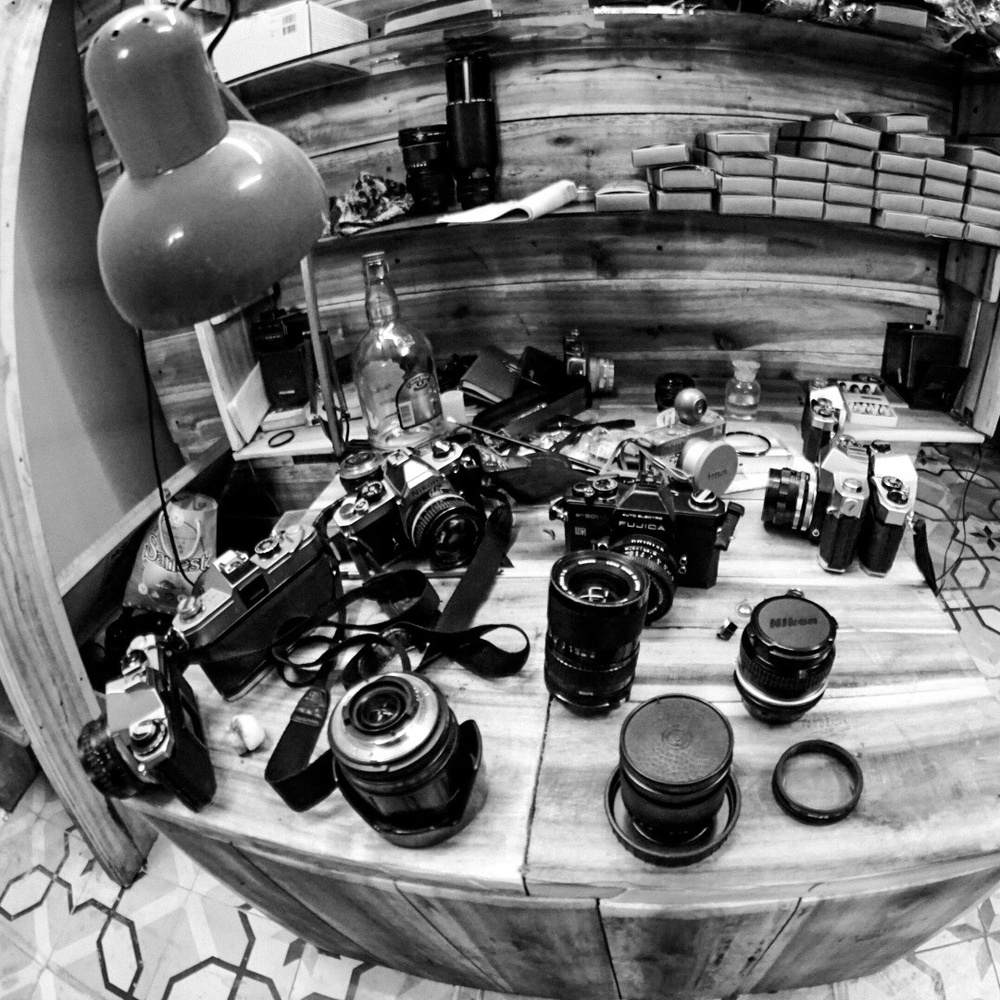Different models and lenses in various condition