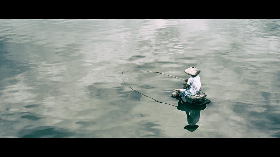 Baiting the big fish