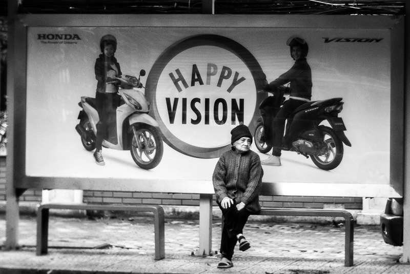 Try to get a happy Vision