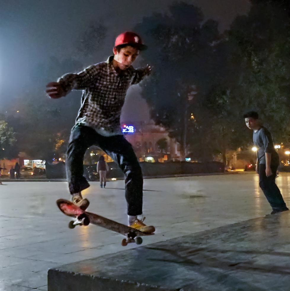 Jump at night time
