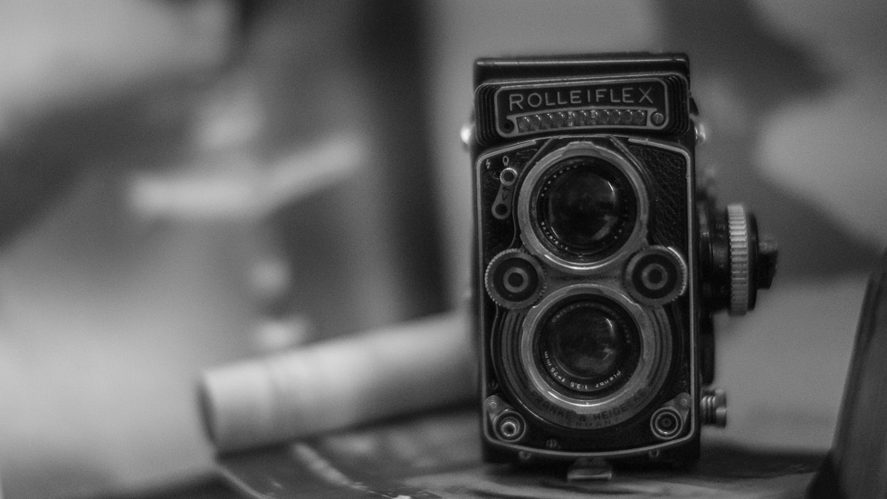 My oldest camera a Rollei inherited from my grandfather at f.095