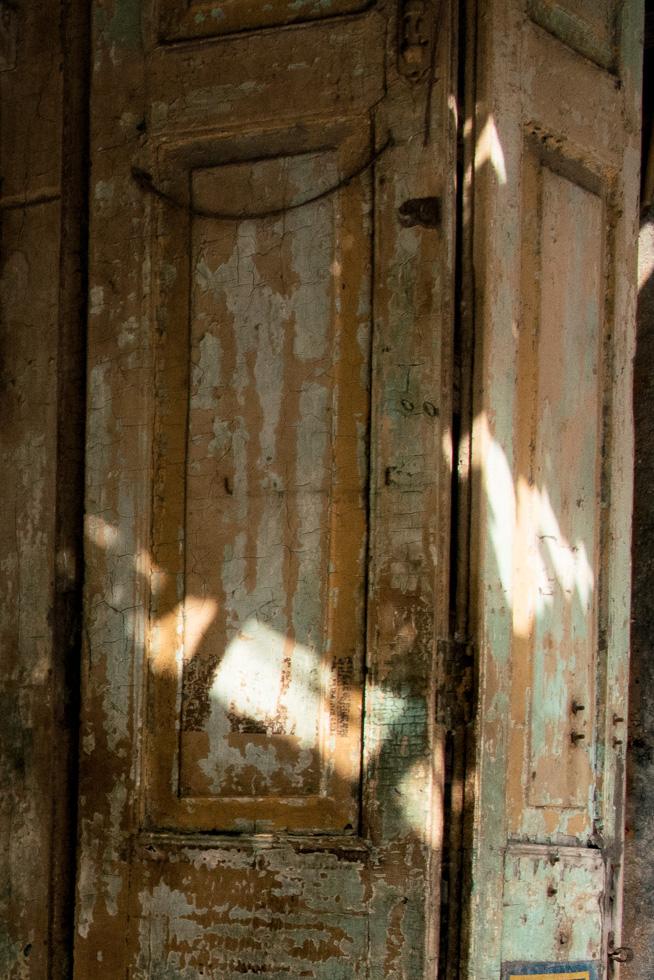 door and light