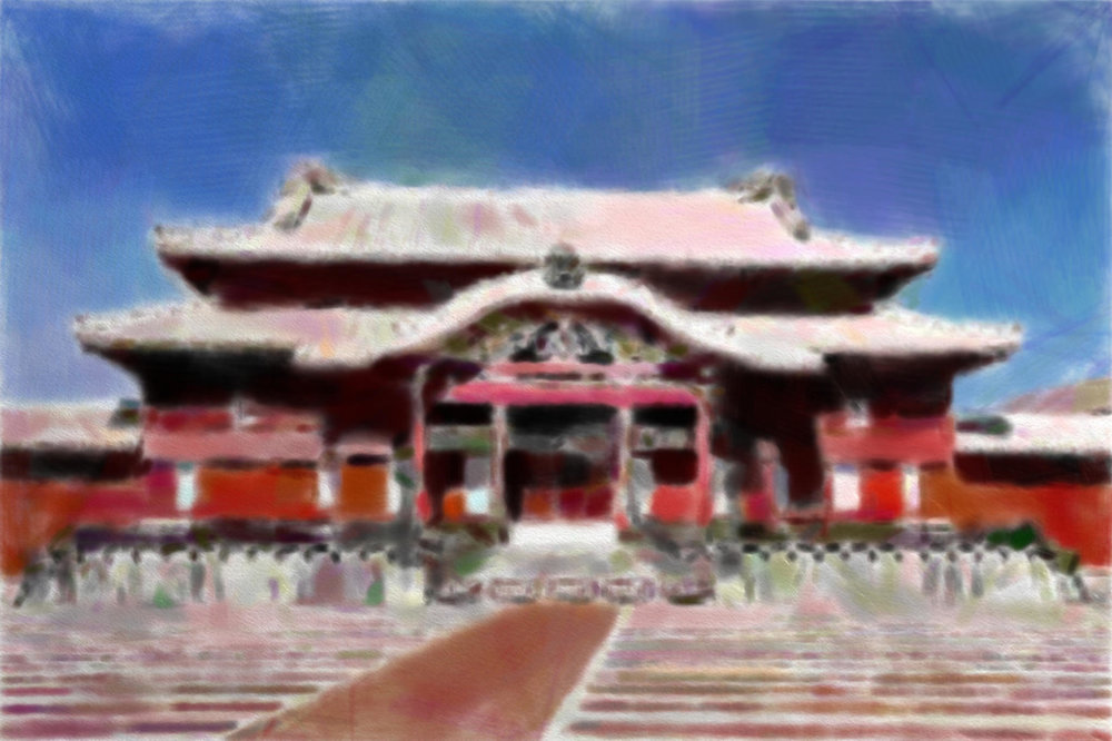 Shuri Castle首里城Shuri-jō in Naha