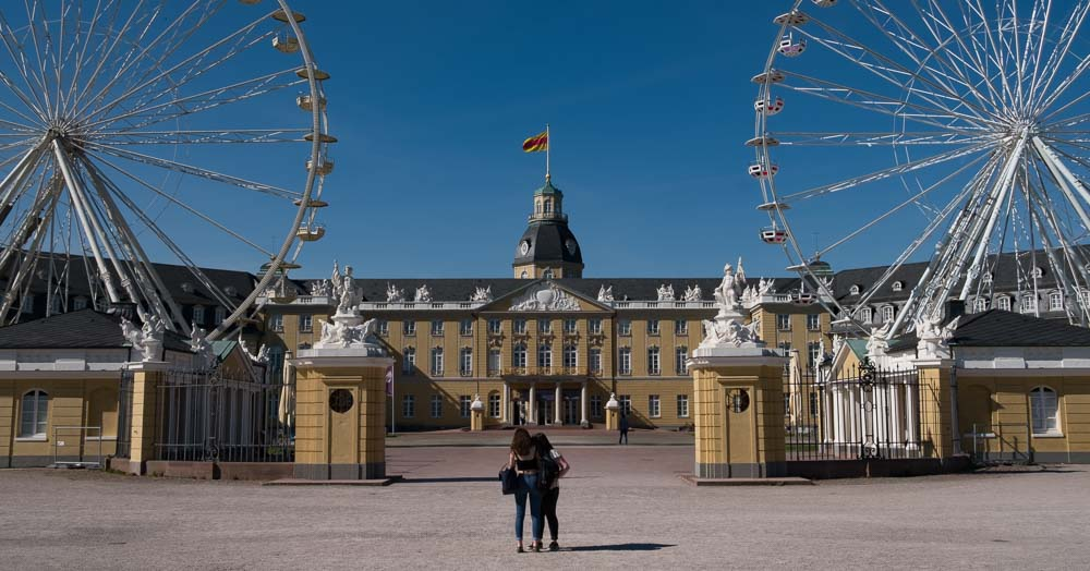 Karlsruhe in daylight