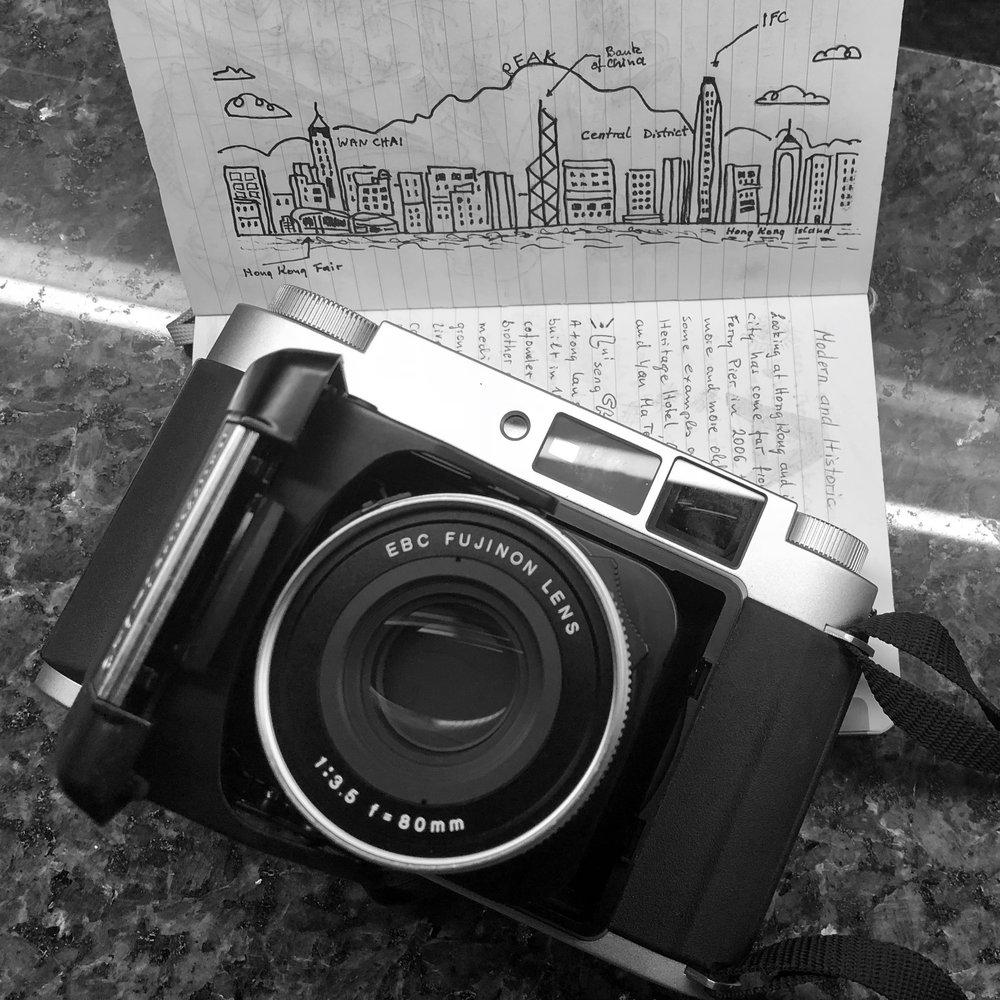 GF 670 excellent 80mm lens