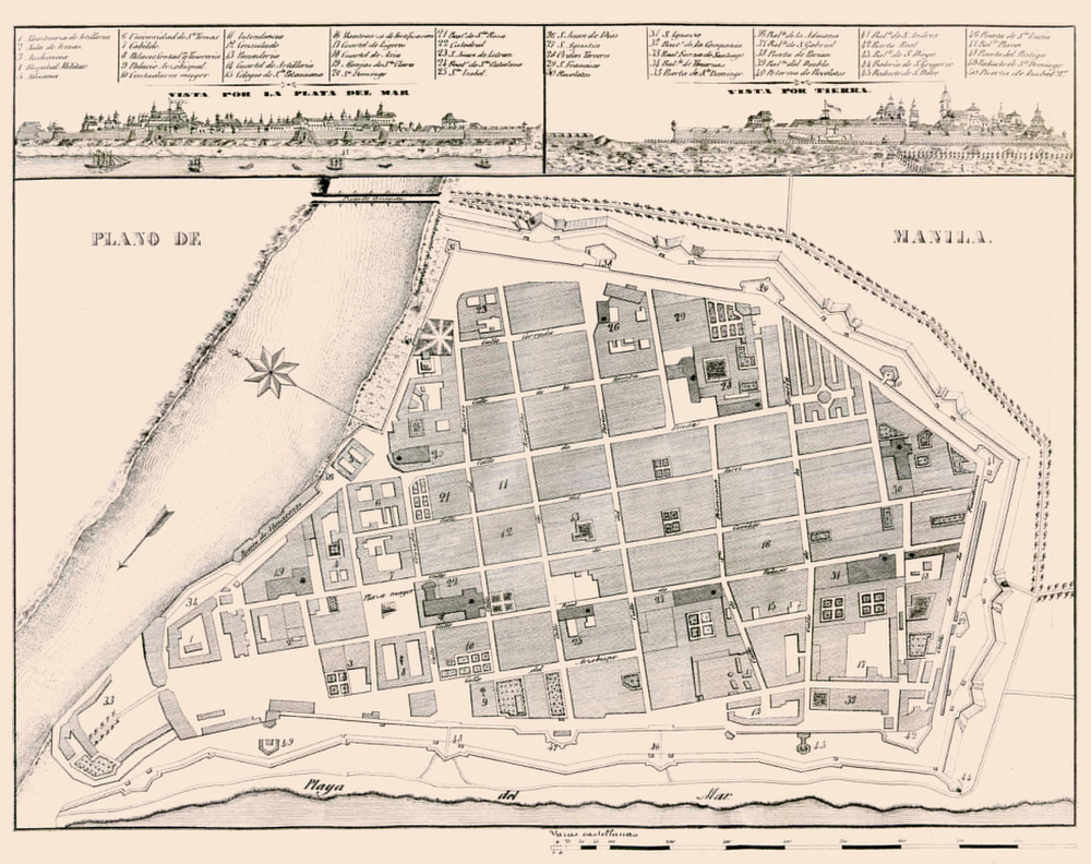Intramuros, 1851