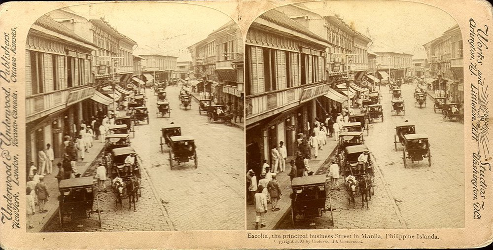 Escolta, Manila, 1899