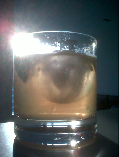 Summer is here, and so are my round ice cubes, seen here majestically floating in a Havana, Ginger Ale and lime.   Boo yah.