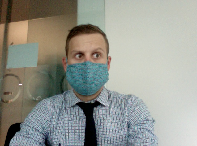 Patient Zero, dealing poorly with manflu.