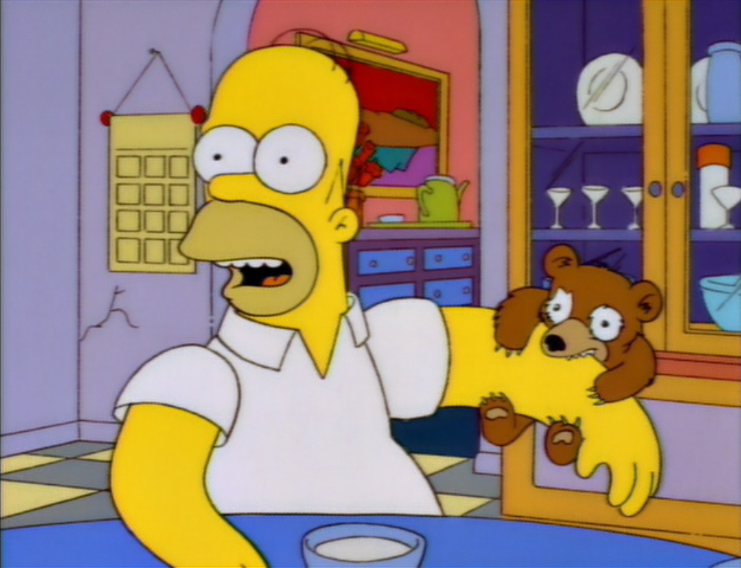 "Lisa, when you get to be our age, you'll learn a few things, like when a sign says ""Do not feed the bears,"" man, you better not feed the bears."