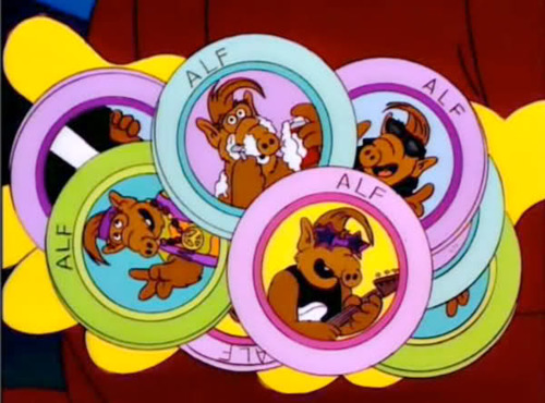 Remember Alf? He's back. In pog form.