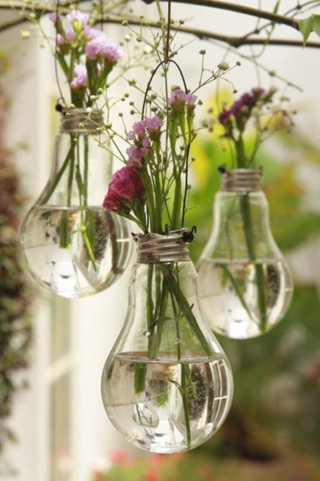 Next time a bulb bursts, I am going to make one of these.
