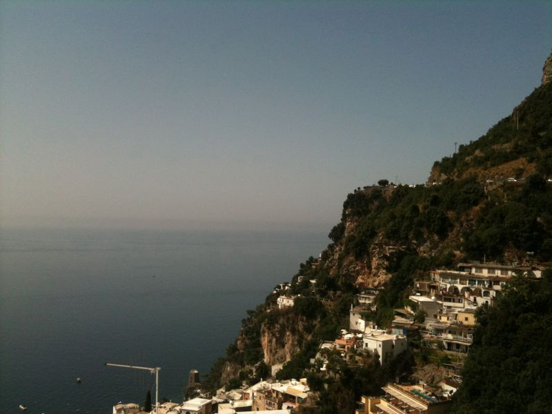 From where i'd rather be. alwayswantedto: Breakfast along the Amalfi Coast
