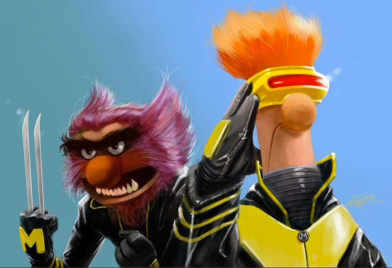 How to make X-Men even more awesome: ADD MUPPETS.