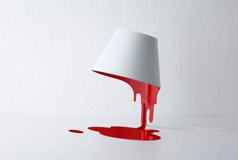 So I really need a bedside lamp. Not sure I'd put this in my bedroom, but it is damn cool.
