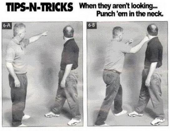 Good technique.