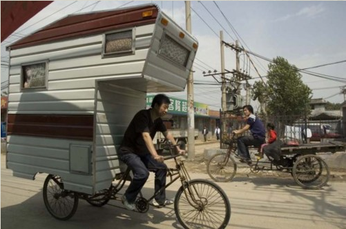 Caravanning. China Style.
