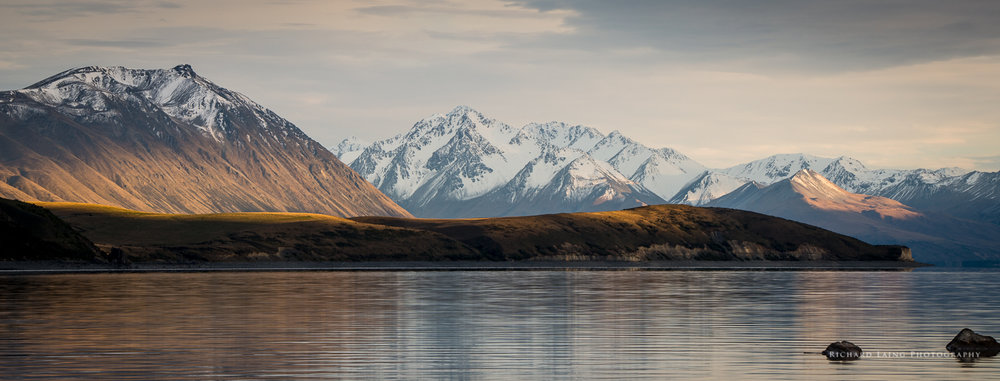 Sunrise Over Lake Tekapo