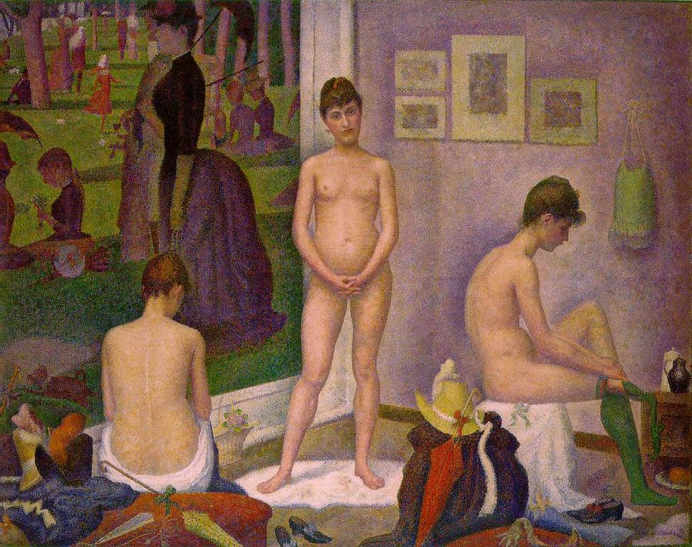 Les Poseuses , 1888