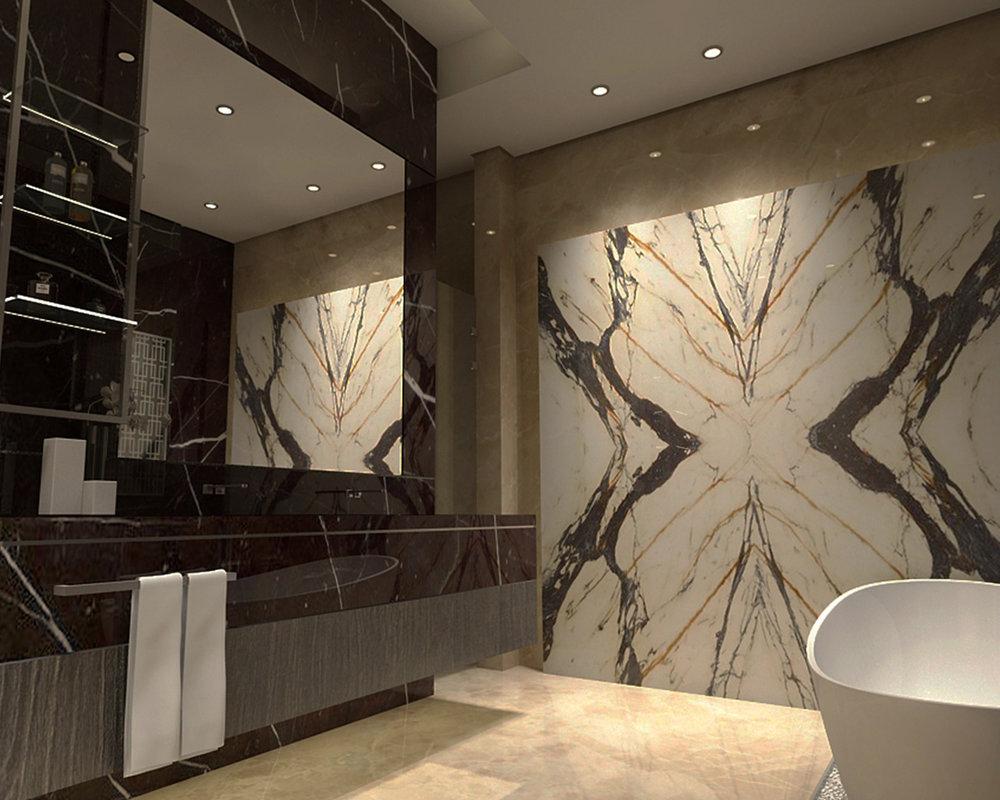 Villa Sulaibikhat - Interior Design Master Bath - Prime United Company RGB 150DPI.jpg