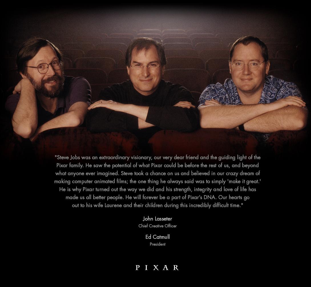 רק עכשיו חשבתי להסתכל באתר של פיקסר (הדבר הטוב היחידי שיצא מטוקבקים בווינט) וכמובן שגם שם הרימו מחווה עדינה ויפה לאדם שהפך אותם למה שהם