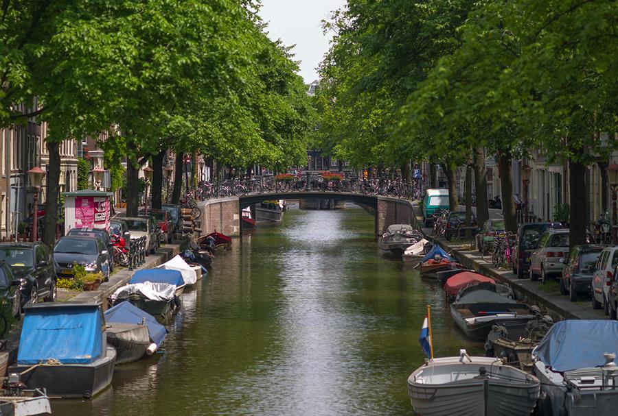 תעלה באמסטרדם - מקור