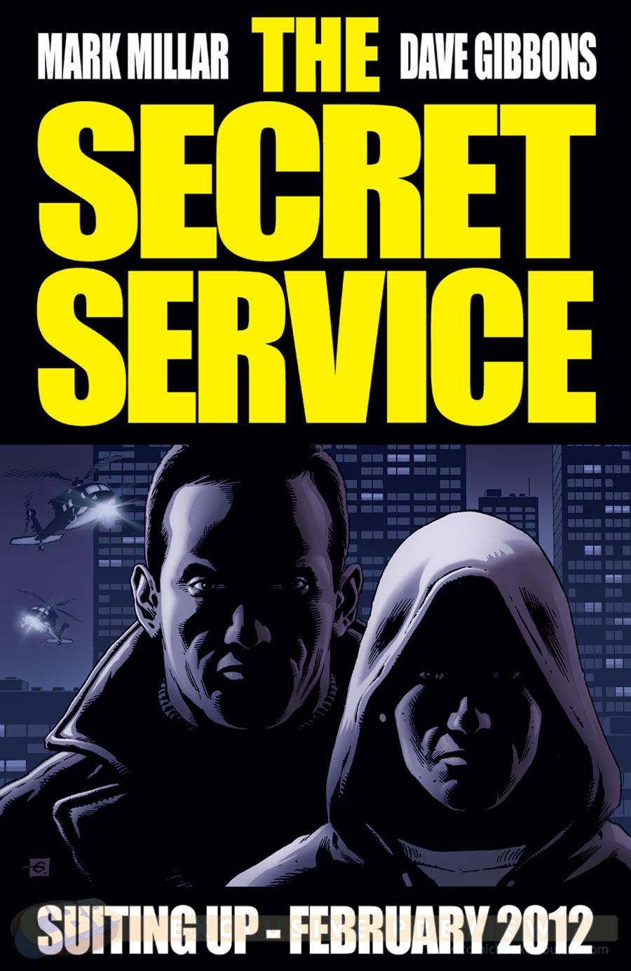 מארק מילאר גם כתב את הסדרה Secret Service, שגם תעובד לקולנוע, ואותה ניתן למצוא כאן