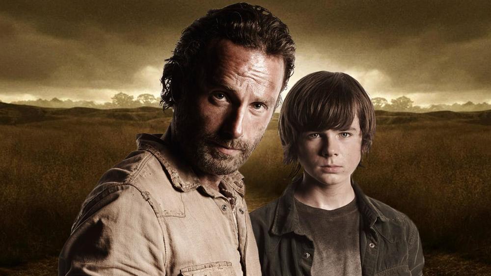 The_Walking_Dead_-_Andrew_Lincoln,_Chandler_Riggs,_David_Alpert_Interview_-_Comic_Con_2014.jpg