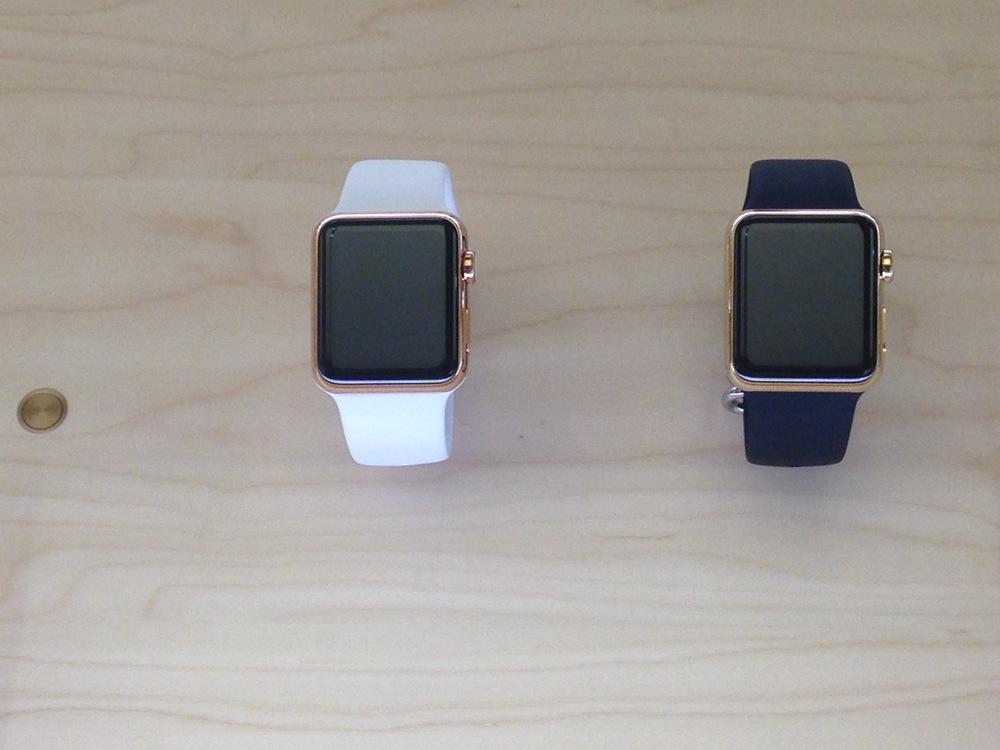 הApple Watch Edition - הם בזבזו כסף על זהב כדי לשים אותו מתחת לזכוכית בהדגמה?