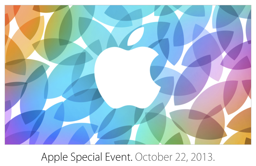 Apple Special Event October 2013