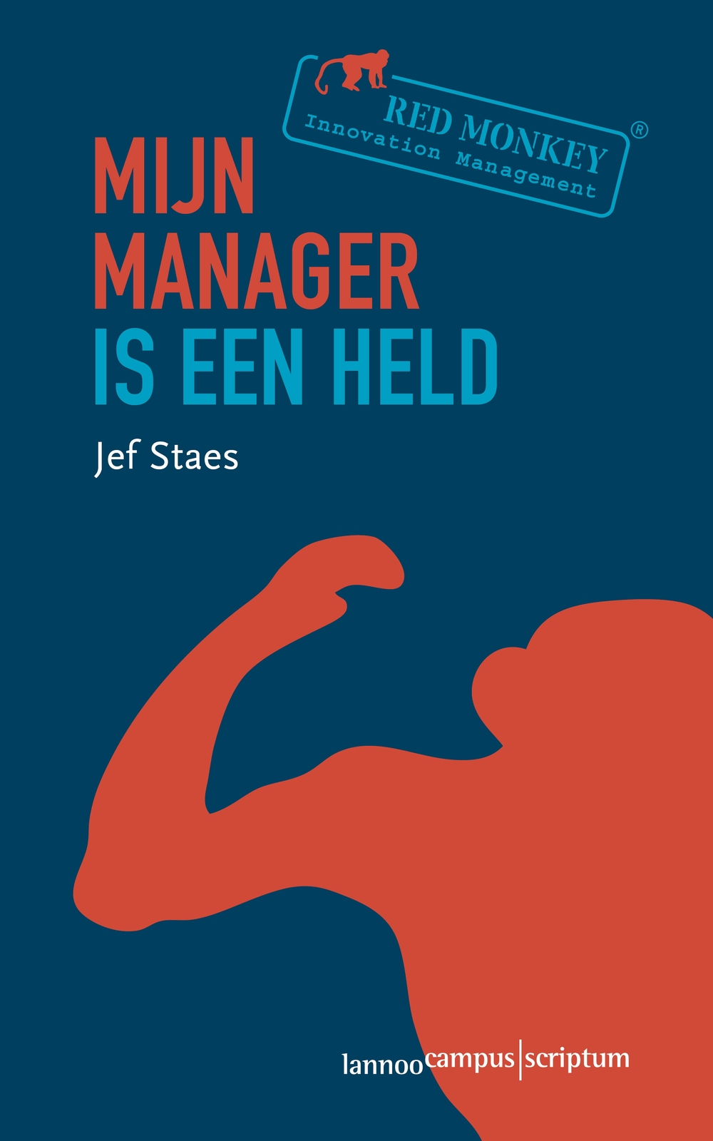 Cover - Mijn mangager is een held