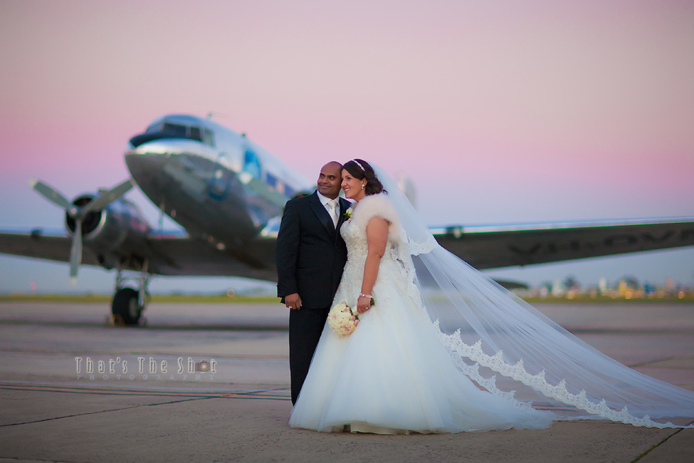 Essendon Airport Wedding