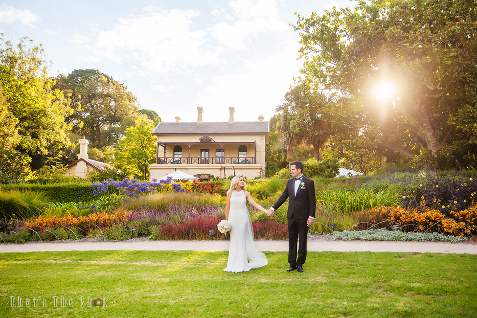 Melbourne Botanical Gardens Wedding